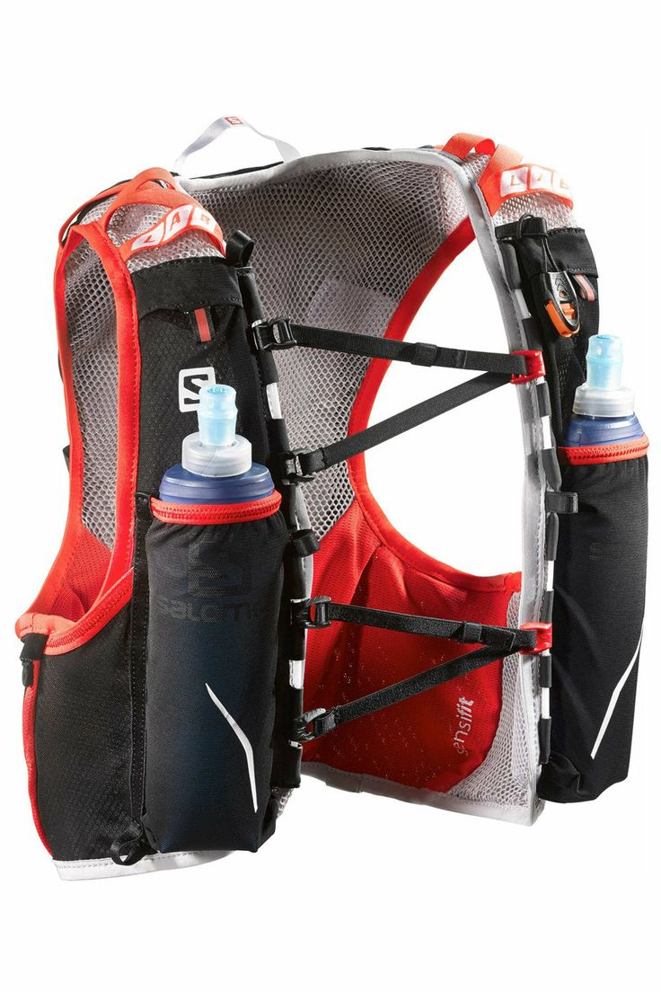 Salomon S-Lab Advanced Skin Hydro 5 Set - I LOVE THIS! carry up to 5L of water and use the bottles for flavour and electrolyte drinks.
