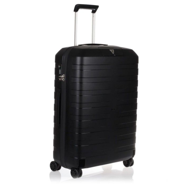 RONCATO BOX Trolley Medio 4 Ruote Nero/Nero