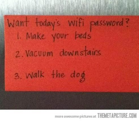 Want WiFi pass?
