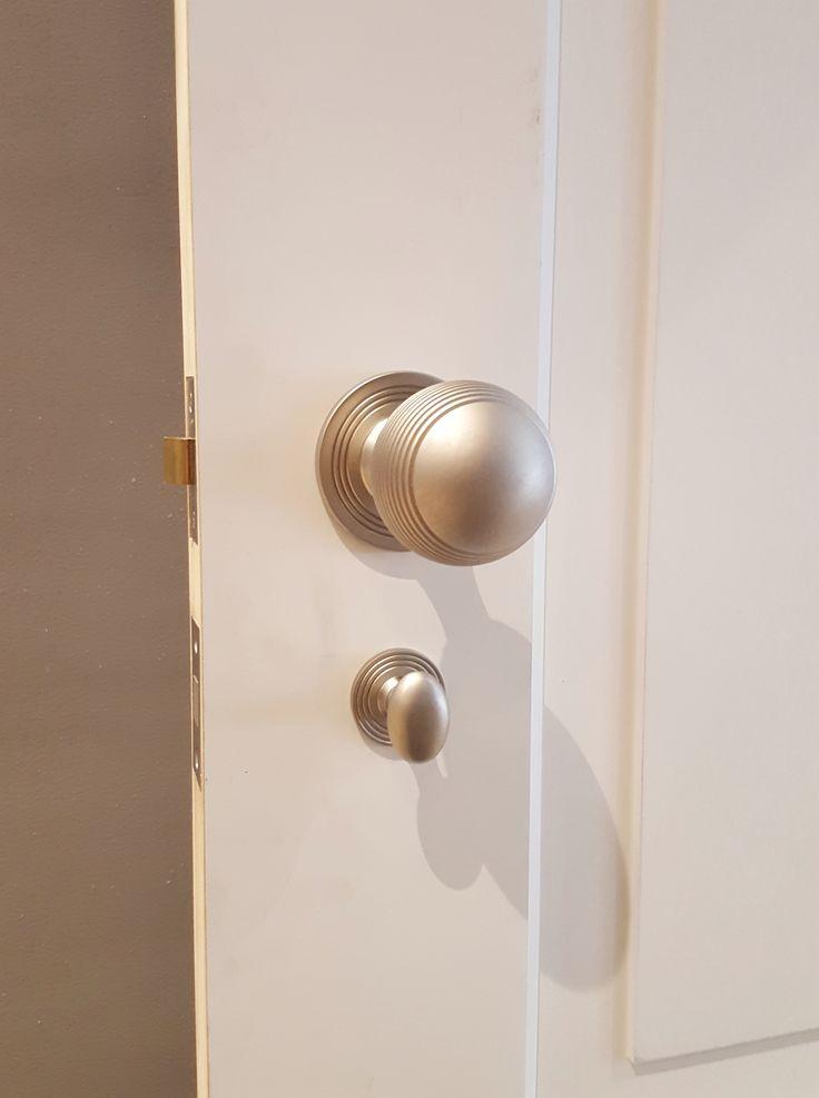 Samuel Heath knob on rose with thumb turn. Installed by The Tidy Tradie - Lock Carpenter.  #samuelheath #doorhardware #doorfurniture #doorknob #doorhandles #doorlock #lockinstaller #handleinstaller #lockfitter #lockinstallation #lockcarpenter #mosman #sydneylockinstaller #sydney