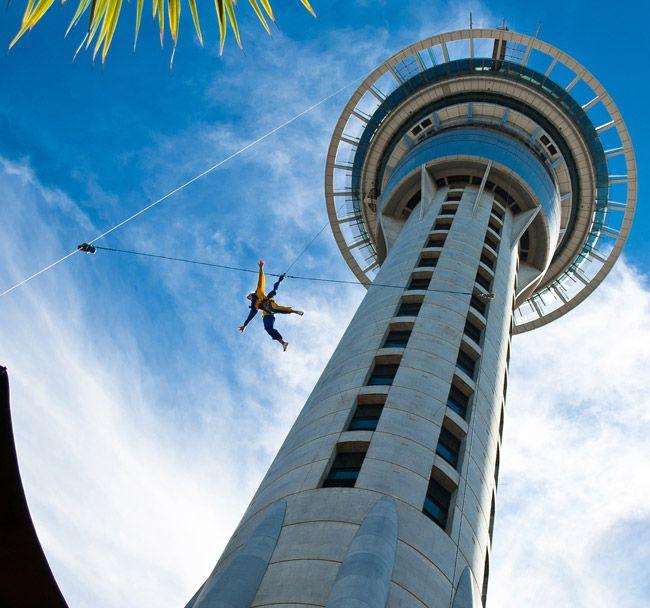 New Zealand Sky tower