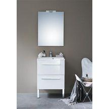 Les 80 meilleures images du tableau salle de bain sur for Meuble 2 tiroirs 90 cm woodstock laque blanc