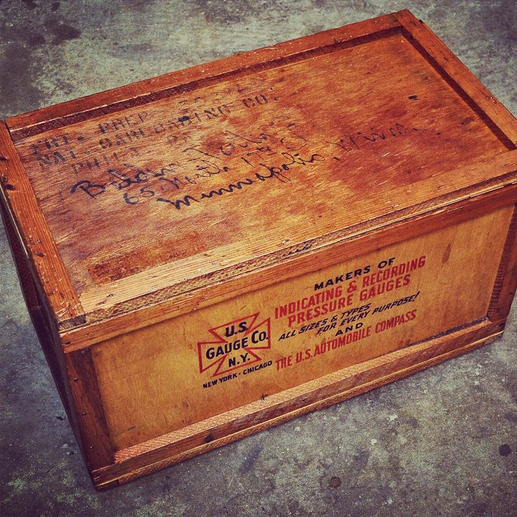 19 Best Images About Wood Crates On Pinterest Industrial