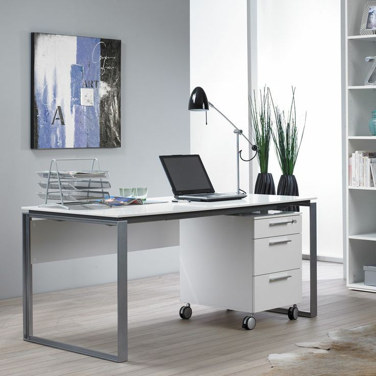 The Perfecta Desk Epitomizes Scandinavian Design Tradition With A Focus On Simple Minimalist Lines Attractive Open End Panels Are Crafted Of Sy