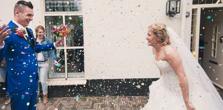 Dacht je dat alleen bruiden veel zorg en aandacht besteden aan hun look voor de grote dag
