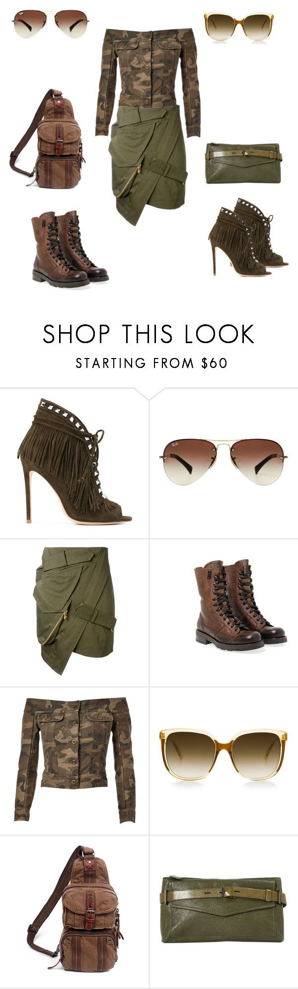 """Детали меняют всё"" by repriza on Polyvore featuring мода, Gianni Renzi, Ray-Ban, Alexandre Vauthier, O.X.S, Faith Connexion, Steven Alan, TSD и Reed Krakoff"