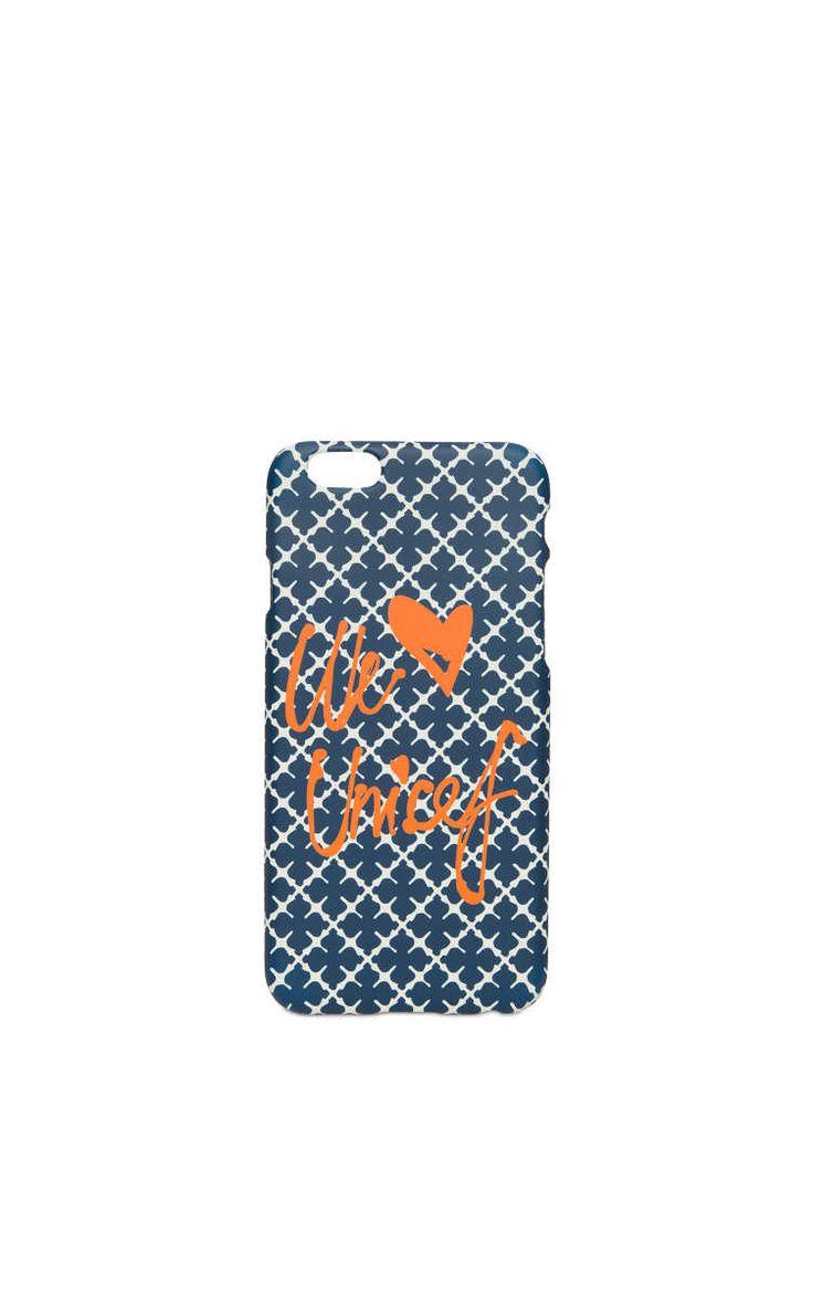Phone Case - iPhone 6 Pamsy Unicef NAVY - By Malene Birger - Designers - Raglady
