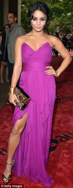 Toronto Film Festival 2012: Selena Gomez sports nude effect dress as Vanessa Hudgens chooses thigh high split for Spring Breakers premiere | Mail Online