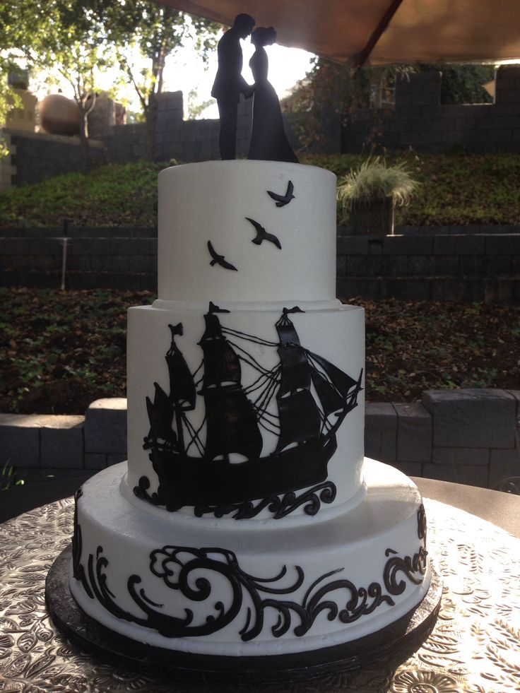 Pirate themed wedding.