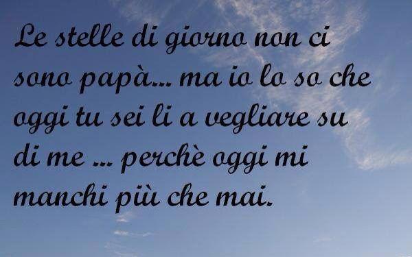 Mi manchi papá ❤️