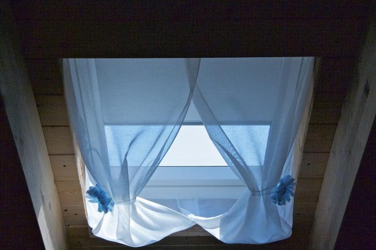 La zanzariera chic per finestre lucernario ad effetto