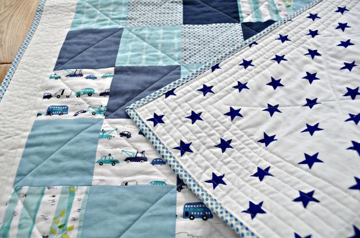 Quilting Ideas | Project on Craftsy: Baby boy quilt