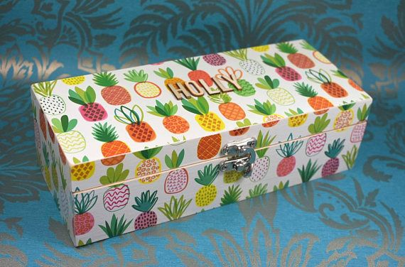 Hey, I found this really awesome Etsy listing at https://www.etsy.com/uk/listing/519522028/pineapple-jewellery-box-wedding-gift