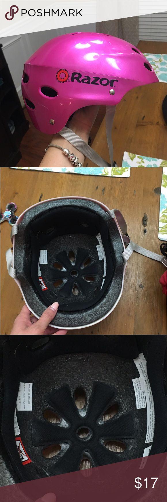 Razor Pink Helmet Kids Like New Razor Pink Helmet Kids Like New. 20% off bundles. razor Other