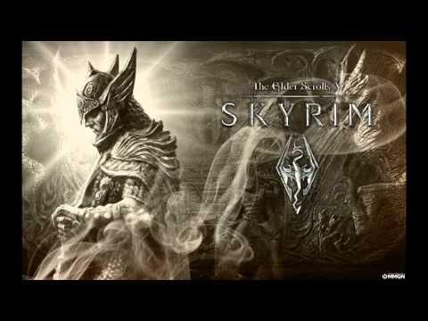 The Elder Scrolls 5 Skyrim Soundtrack (Streets of Whiterun)