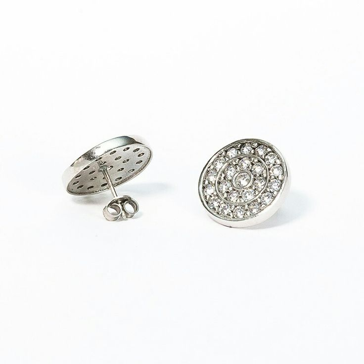 Orecchini rachelorly in argento e zirconi