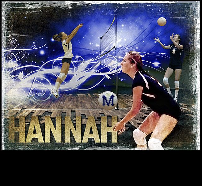I can create a custom volleyball sports poster of your child using your photos. View and order yours at http://anythingphotos.com/projects/photos/sports