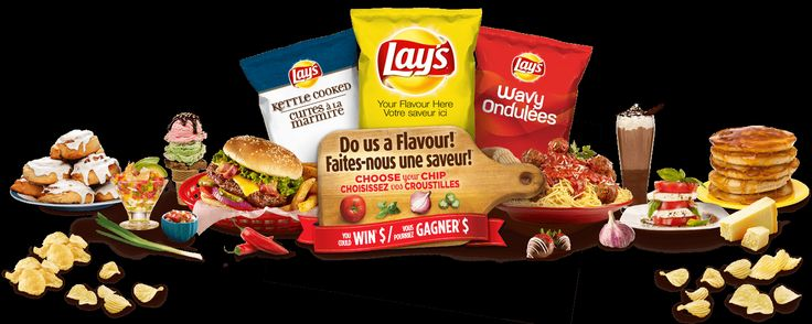 Lay's Chips Canada! ~ Do us a Flavour Contest!  Win $50,000 & 1% of all future sales!