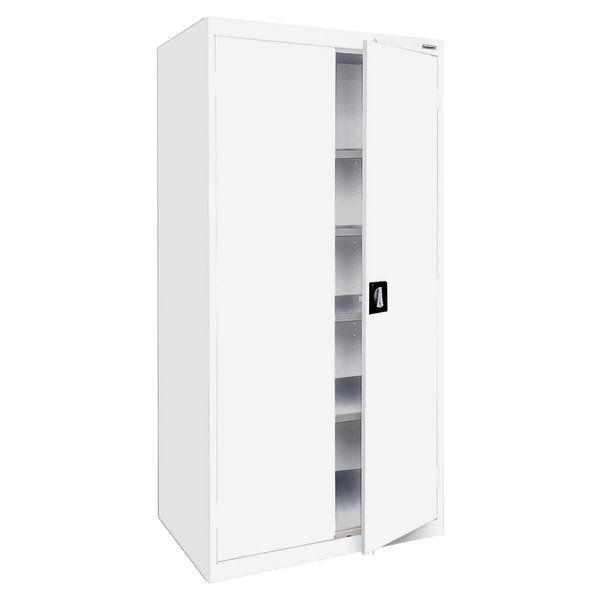 Elite Series 2 Door Storage Cabinet Freestanding Storage Cabinet Steel Storage Cabinets Door Storage