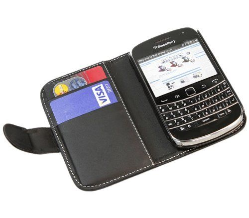 34 best blackberry images on pinterest blackberry 9900 italkonline black executive wallet case cover skin cover with credit business card holder for blackberry reheart Choice Image