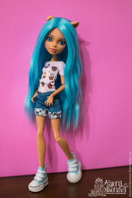 Купить или заказать ООАК Хоулин, Monster High в интернет-магазине на Ярмарке…