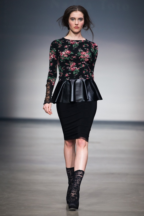 Nadya Toto - Montreal Fashion Week 2013 | Pure Style Girlfriends Canada was there :) :)