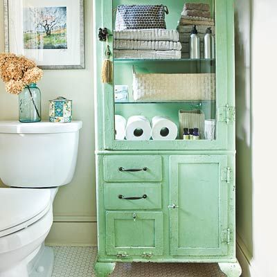 17 best images about salvage style on pinterest garden - Old fashioned bathroom furniture ...