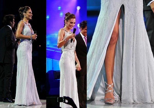 Los vestidos de Carolina De Moras en la tercera y cuarta noche del Festival de Viña