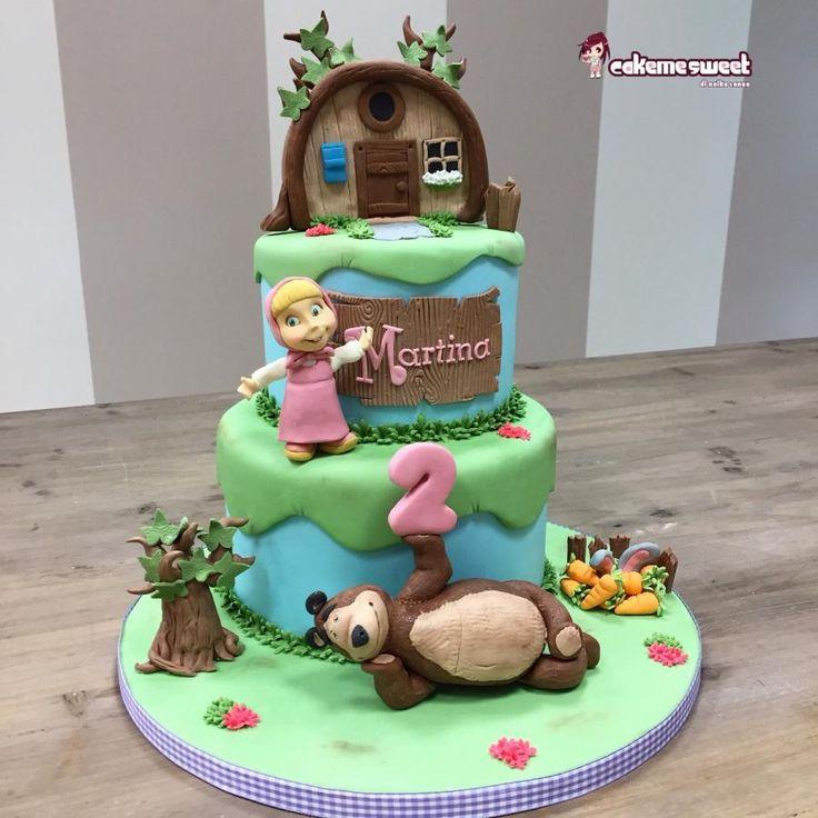 Masha and the bear - Cake by Naike Lanza