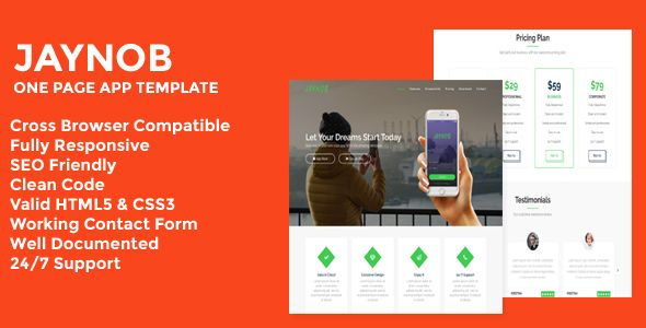 JaguarCV - Responsive Resume \ CV Website Template Resume cv - resume web template