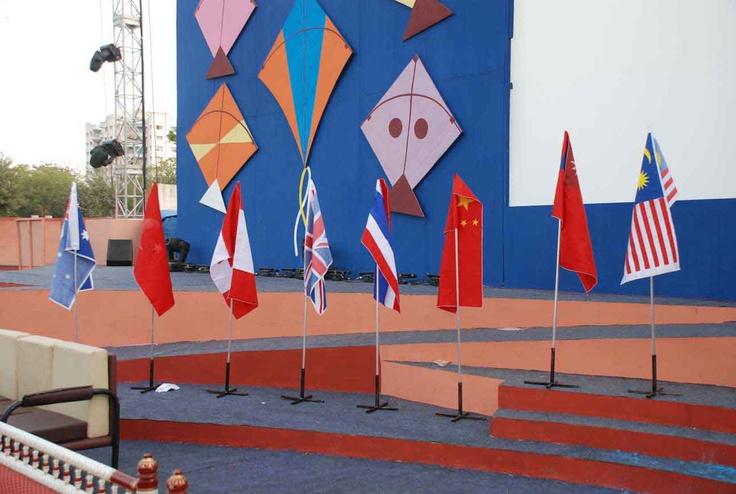 Ahmedabad International Kite Festival 2013