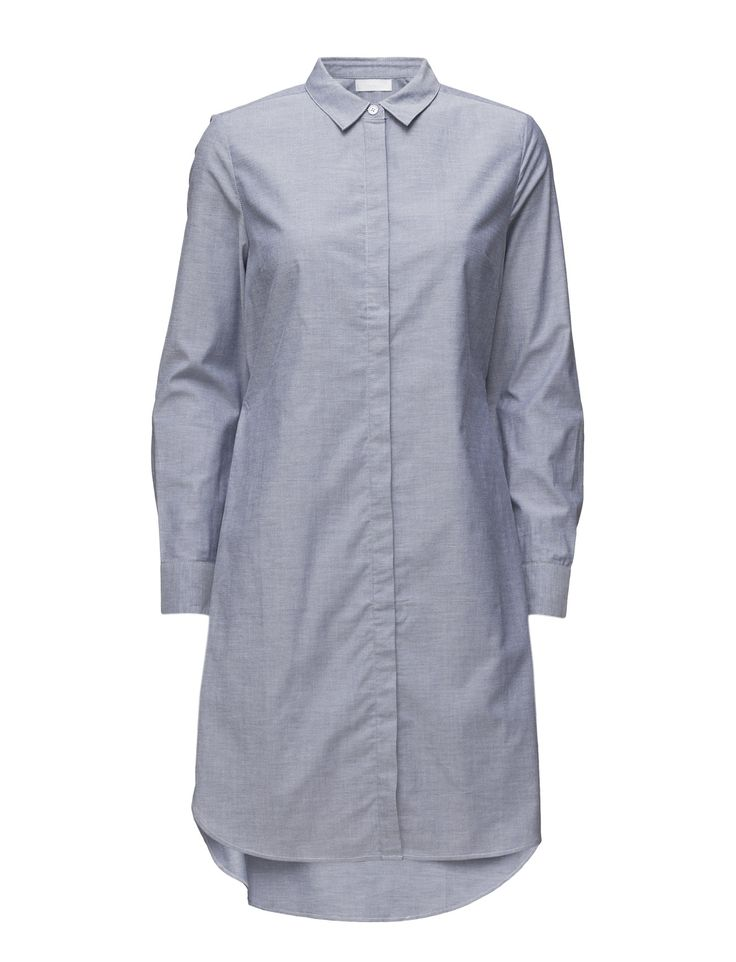 DAY - 2ND Astra Elastic at the back Concealed button placket Point collar Stretch fabric Two button cuffs Chic Elegant Excellent quality and fit Dress Dresses Shirt Dress