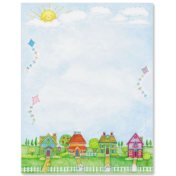 Neighbors Letter Paper | Idea Art
