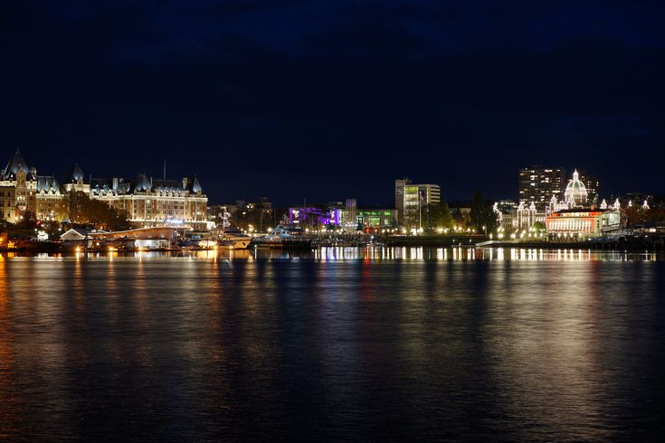 As I was downtown after dark on the weekend I thought a few night shots of the Inner Harbour might make a nice break from all those delightf...