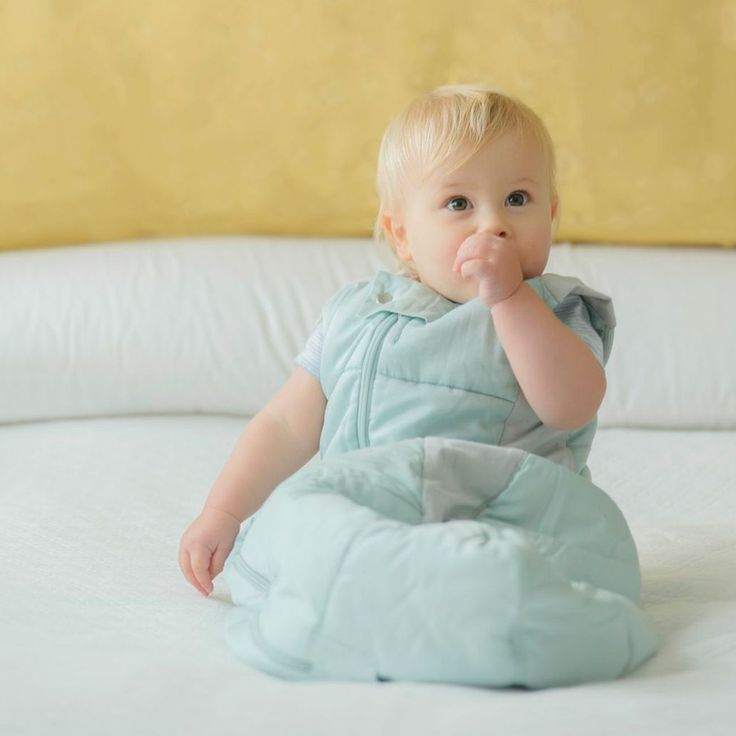 Create a safe sleep environment for your baby using our sleeping bag. Find yours at http://goo.gl/9DhGBG
