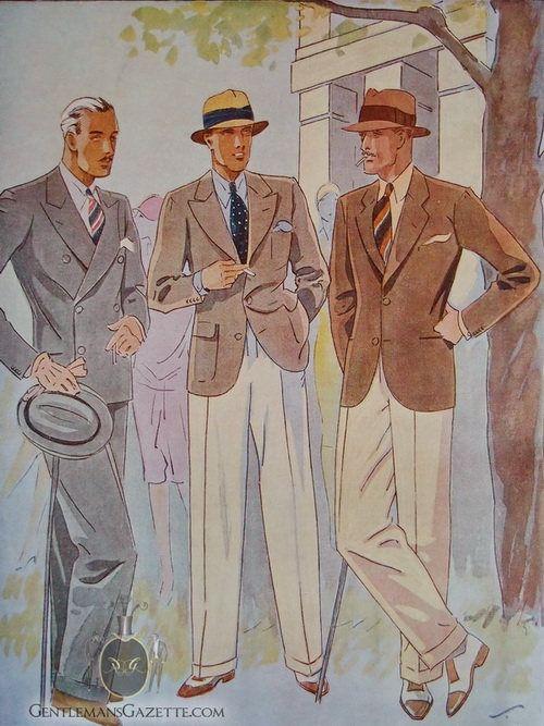 Nu behöver jag hitta ett par brun-vita spectators. Och var finner man vita flanellbyxor idag. Cream White Flannel Trousers & Sportscoats — Gentleman's Gazette