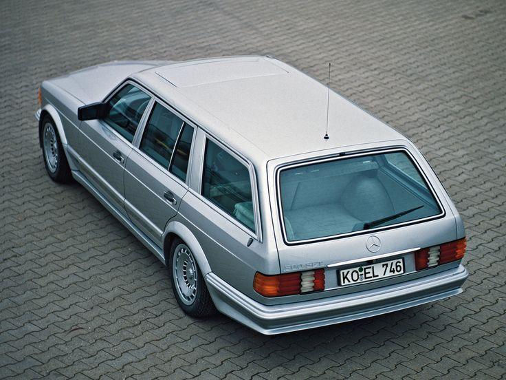 Zender Mercedes-Benz 500 SET - W 126 - 02