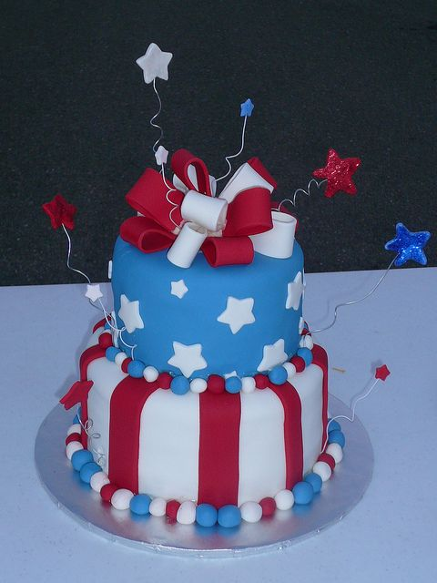 4th Of July cakes | 4th of july cake cake made for 4th of july celebrations @fiance9