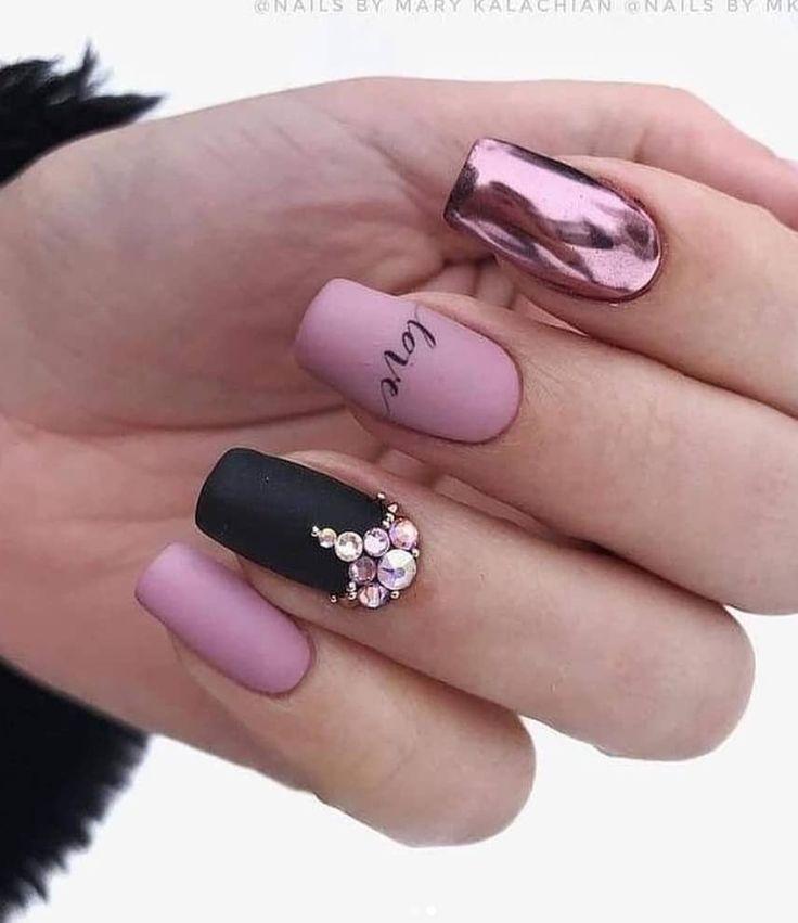56 Wunderschönes natürliches quadratisches Nageldesign für kurze Nägel – Seite 10 von 19 – Make Up