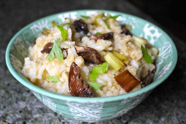 rice cooker rissotto | Vegan & Vegetarian Recipes | Pinterest