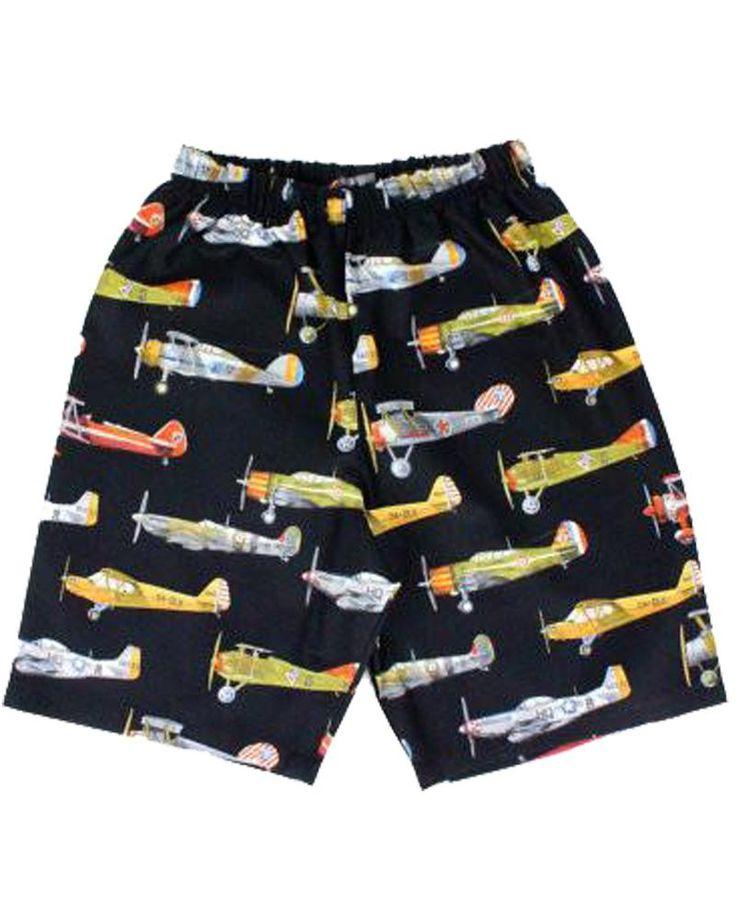 Vintage Airplane Shorts – Bump & Bunny