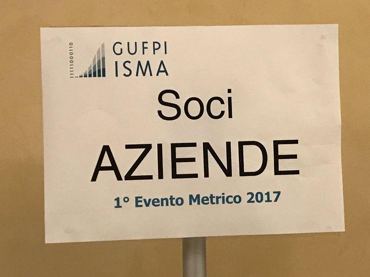 #EventoMetrico #1EM2017 @GUFPI_ISMA #ioMisuro #Iscrizione