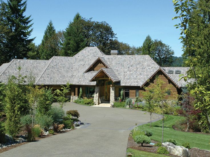 201 best Mountain House Plans images on Pinterest | Village houses ...