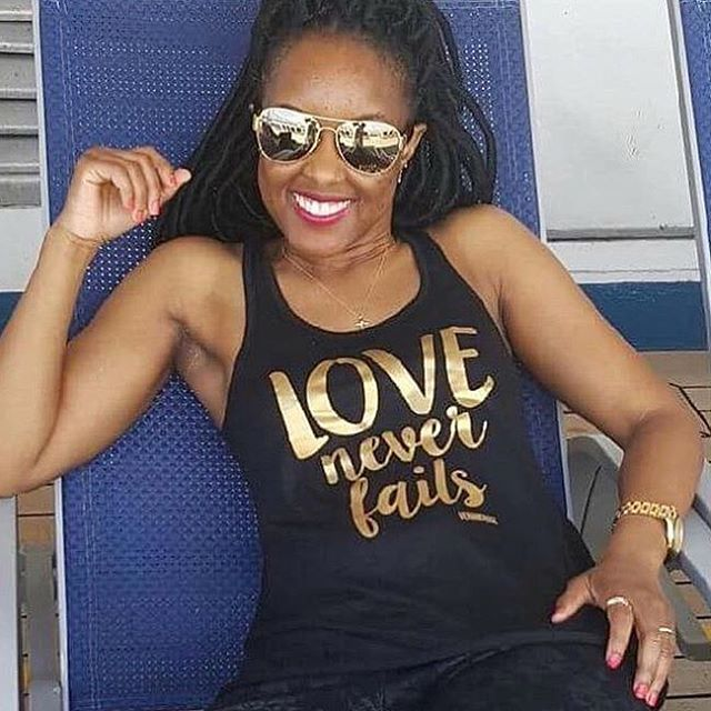 #TBT This photo of @alwaysmarq in the #loveneverfails tank makes us wish we were on a beach somewhere .  Tanks are out of stock but we have tees. For every purchase this month we donate 10% to @violashousedallas | Shop VENANDROSE.COM #vrcrew
