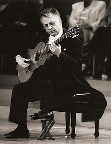 Pepe Romero, the world-renowned classical and flamenco guitarist. He is particularly famous for his outstanding technique and colorful musical interpretations on the instrument.