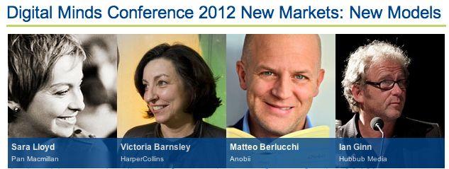 Live-blogging - The London Book Fair Digital Minds Conference - 15 Apr 2012