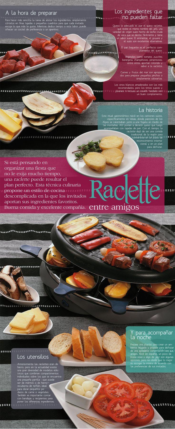 Cómo hacer un buen raclette entre amigos