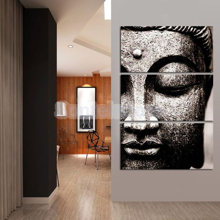 Decorative Canvas Prints Wall Hanging Artwork Painting Picture Buddha B-S