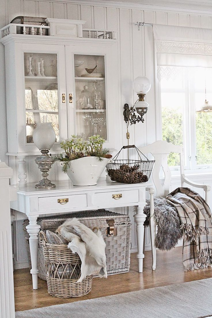 Cosy interior best scandinavian home design ideas the - Gartenhaus shabby chic ...
