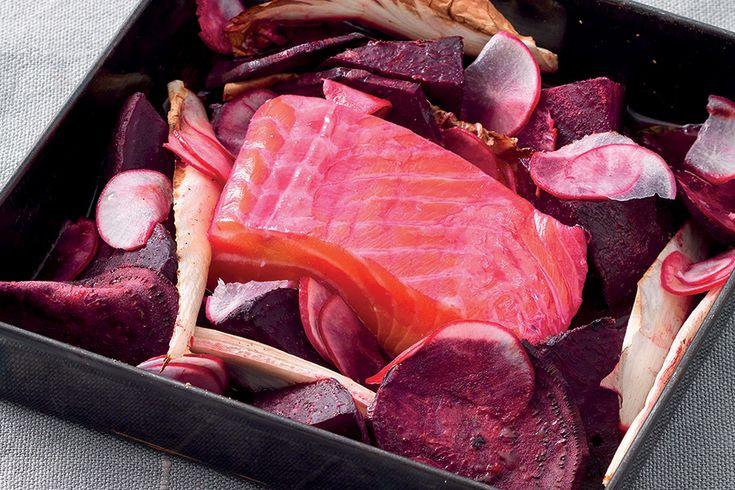 Salmone shocking agli agrumi